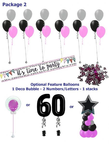 Balloon Package2: Medium Great for any occasion